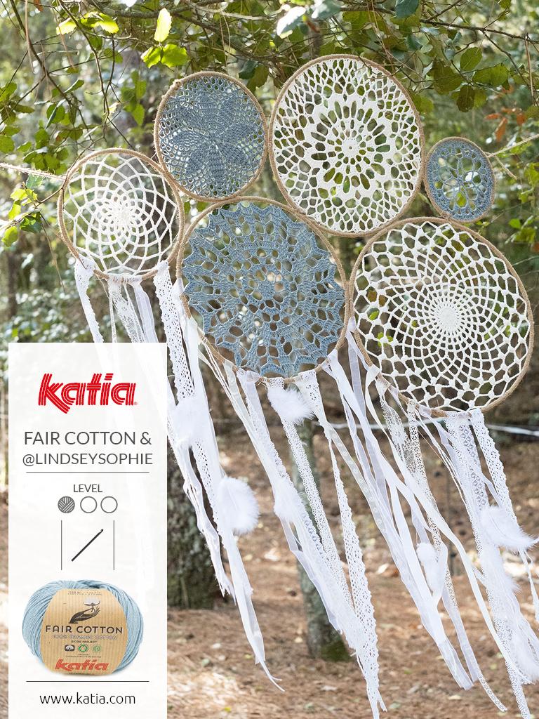 magazine fair cotton crochet attrape-rÊves