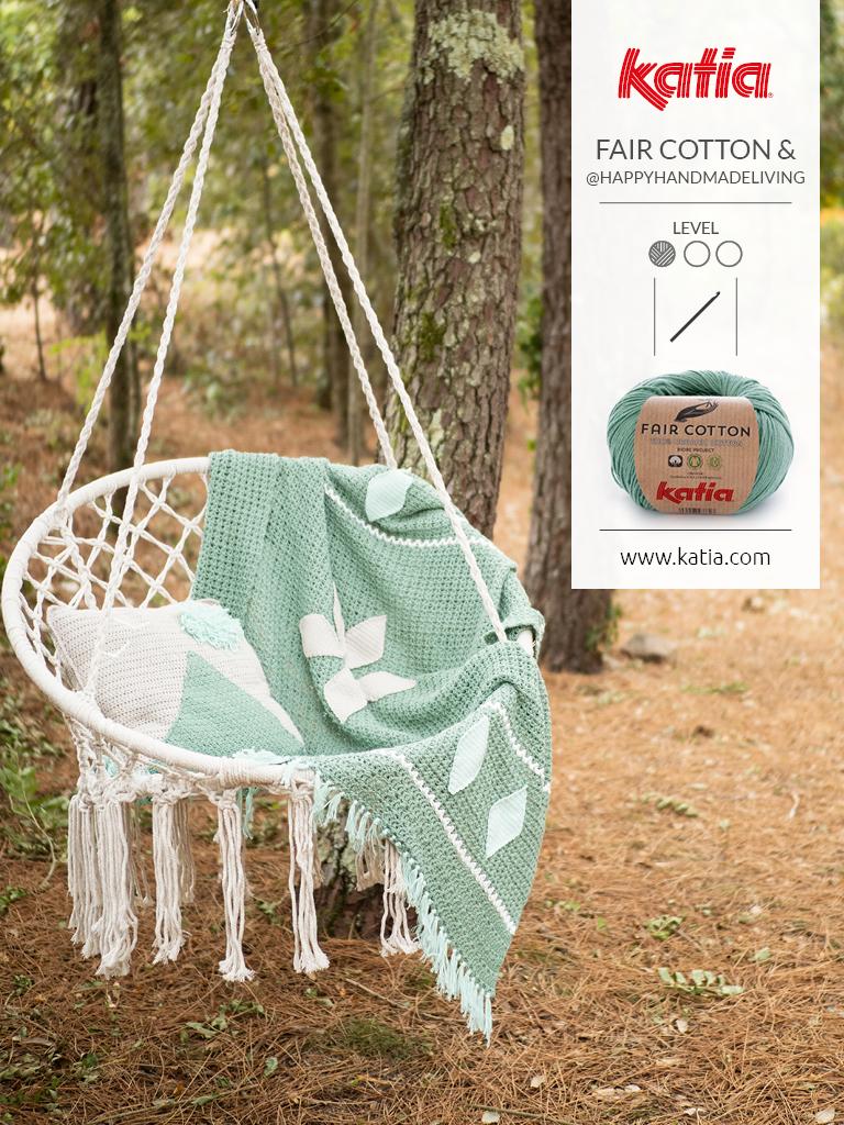 fair cotton crochet couverture