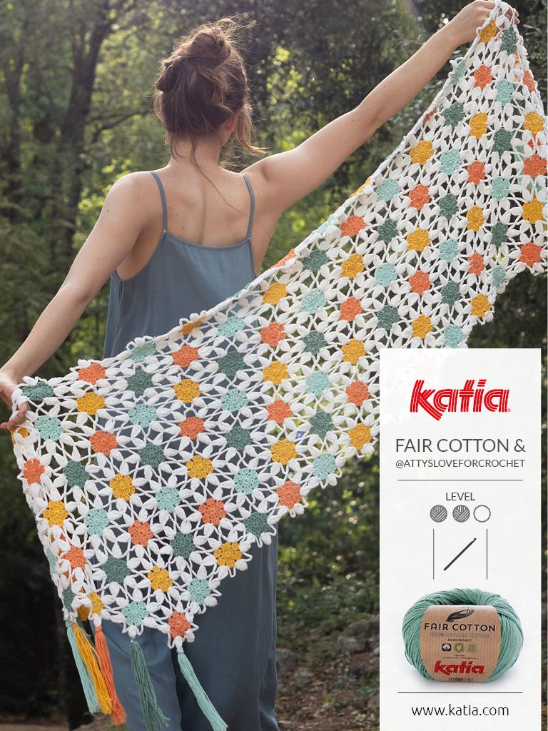 magazine fair cotton fleurs crochet