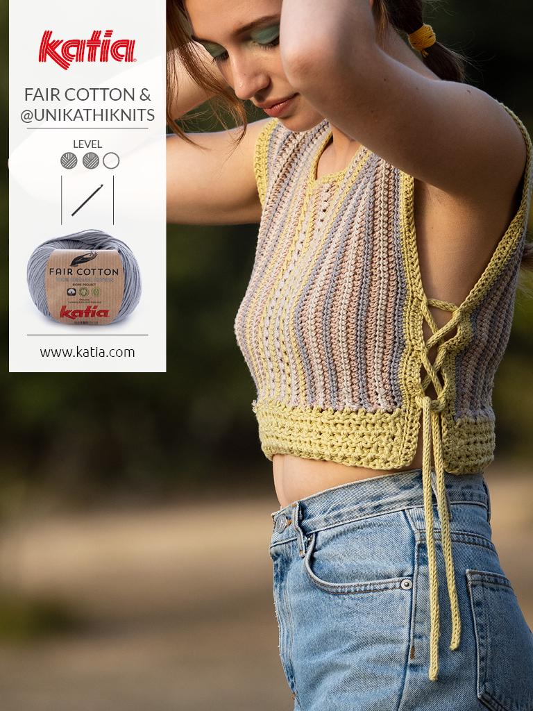 top fair cotton crochet