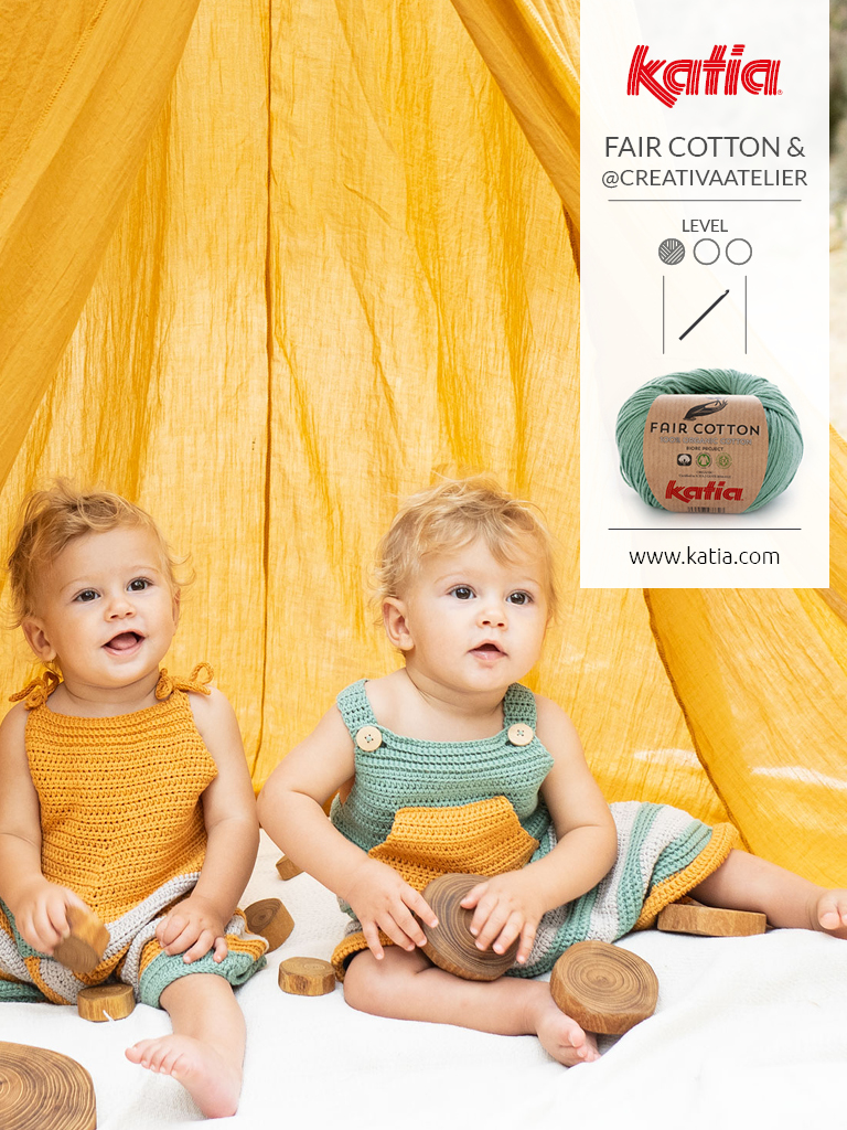 vêtement bébé fair cotton crochet