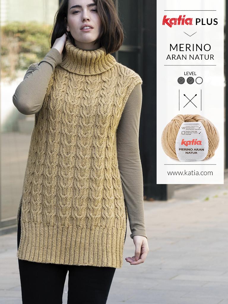 katia plus tricot grandes tailles 6