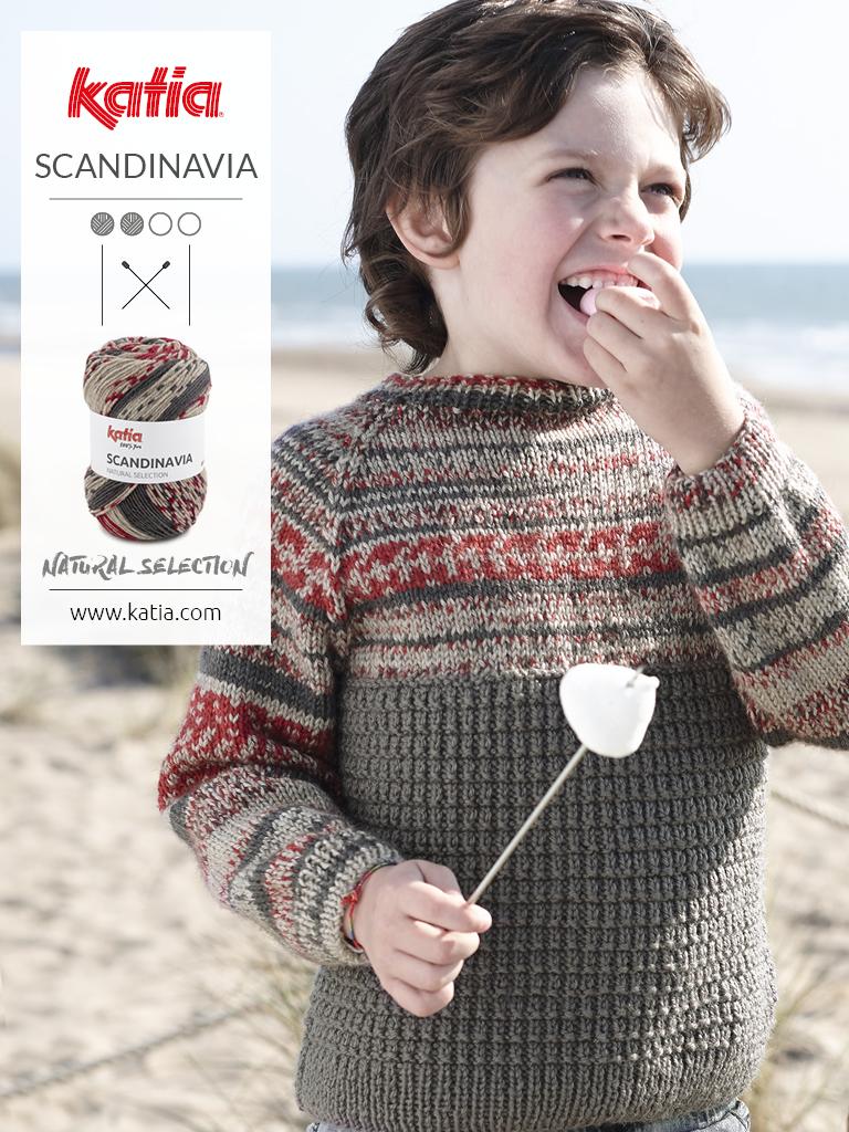 patrons tricot faciles pour enfants pull jacquard