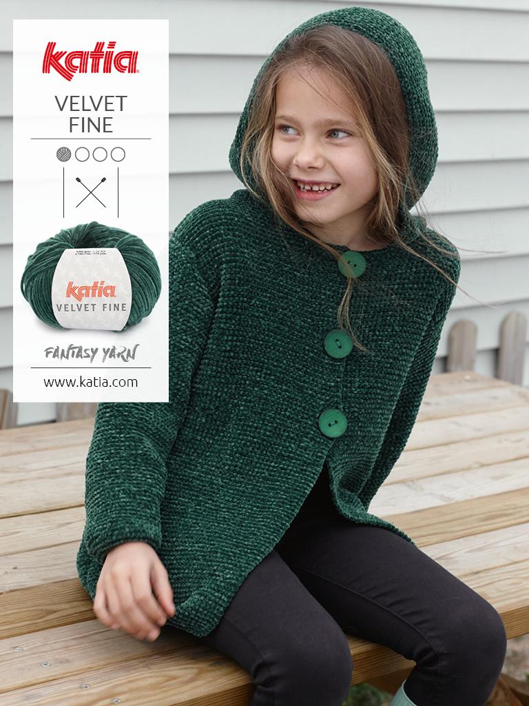 patrons tricot faciles pour enfants capuche