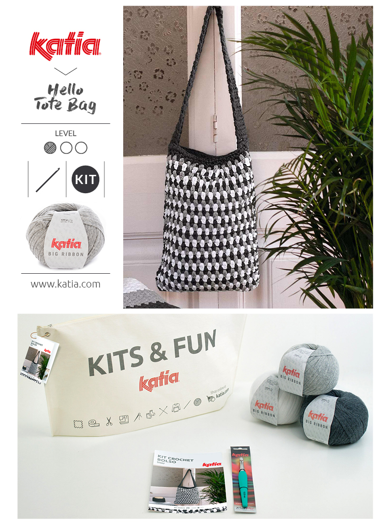 Kits pour débutants Sac Hello Crochet
