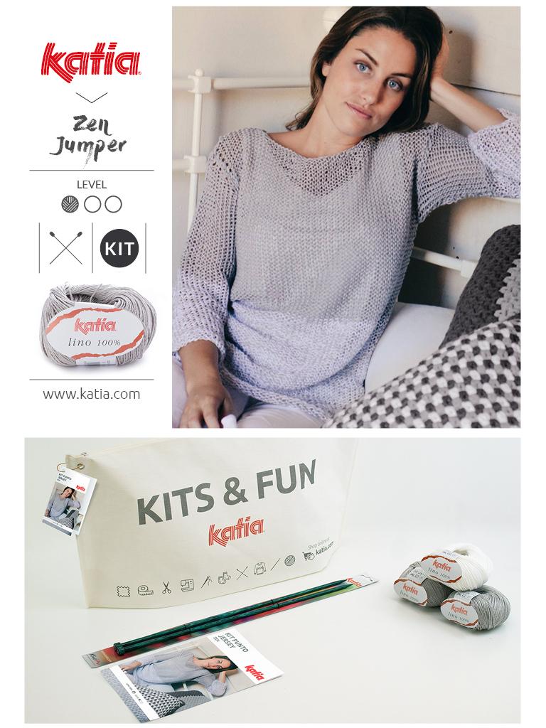 Kits pour débutants pull femme