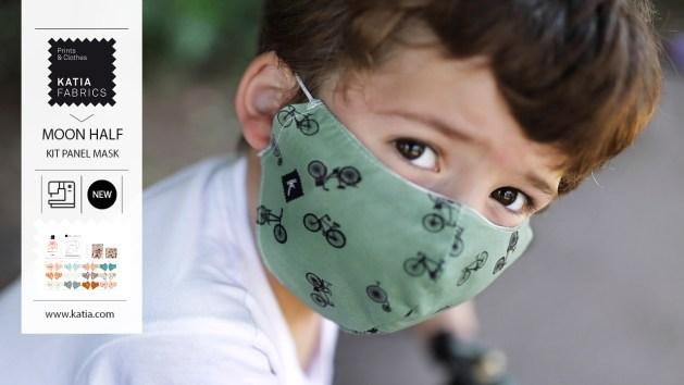 masques en tissu katia fabrics