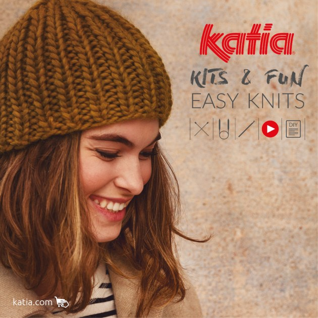 kit tricot débutant easy knits feat