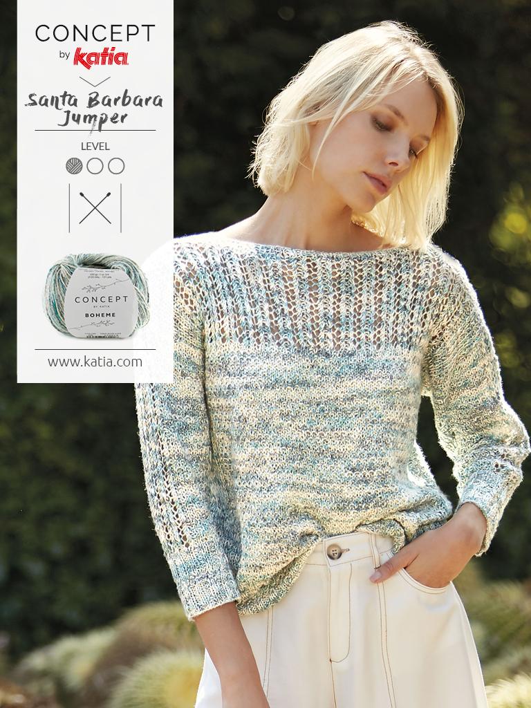 mailles ajourées pour l'été tricot