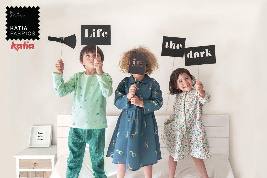 nouveaux tissus Katia Fabrics life in the dark
