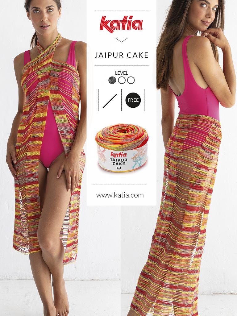 nouveautés-fil-katia-printemps-ete-2019 jaipur cake
