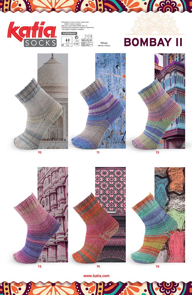 nouveautés-fil-katia-printemps-ete-2019 bombay sock