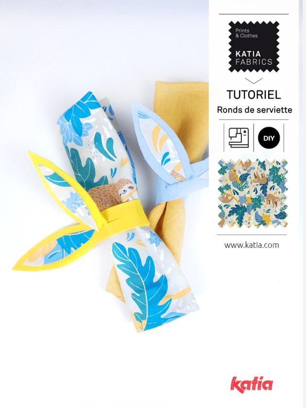 ronds de serviette sans couture feat