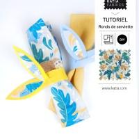 Tutoriel pour enfants: réalisez facilement ces ronds de serviettes sans couture pour Pâques 🐰