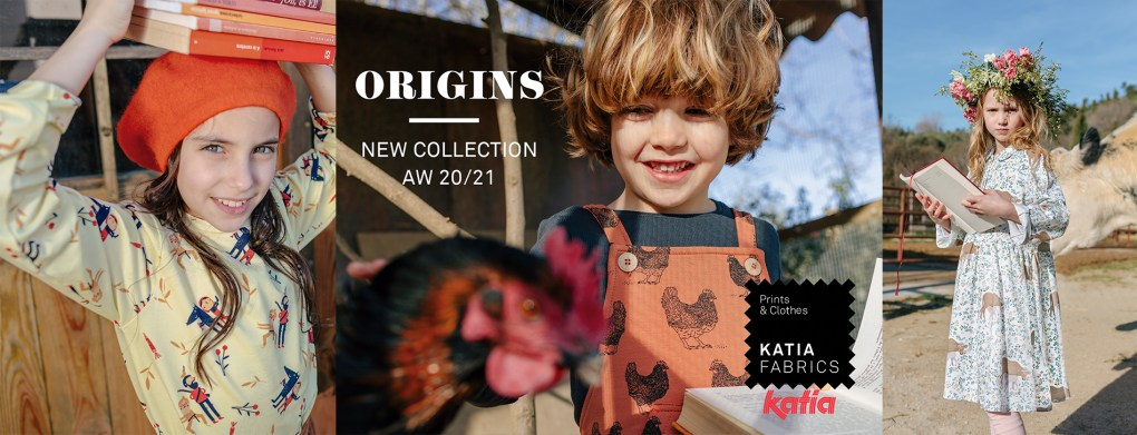 Origins nouvelle collection tissus slide