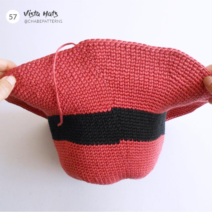 fermer maille en rond crochet 2