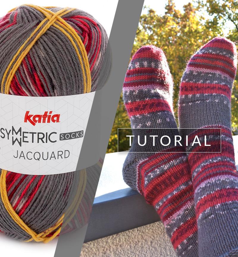 Apprenez à tricoter une paire de chaussettes identiques