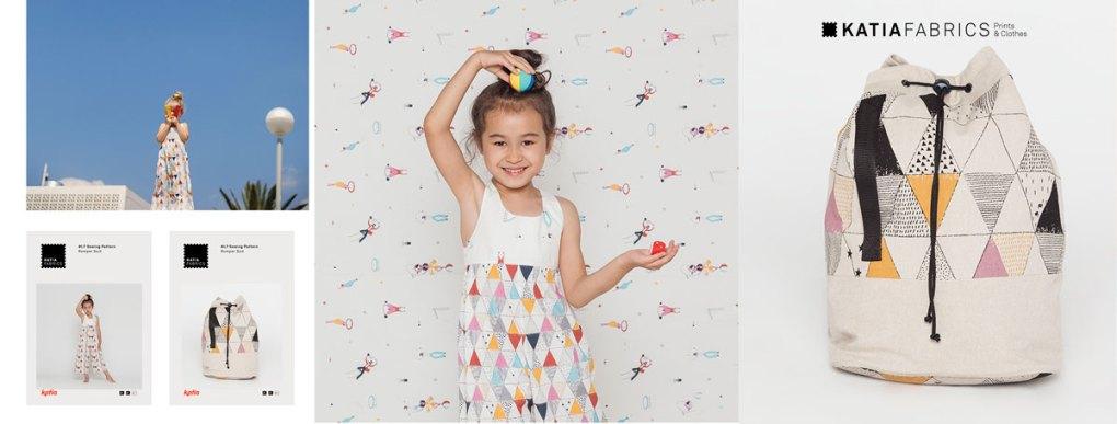 collection-tissus-katia-fabrics-printemps-ete-2019 circus