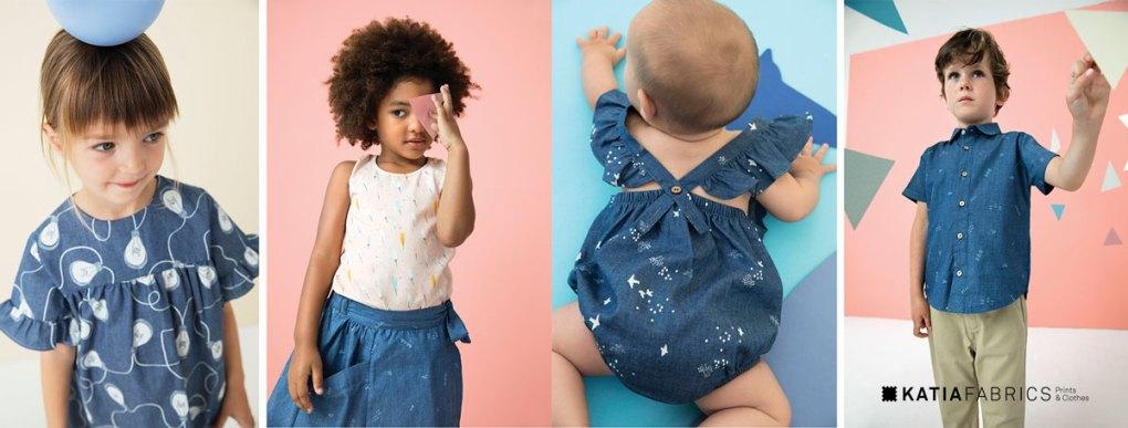 collection-tissus-katia-fabrics-printemps-ete-2019 denim