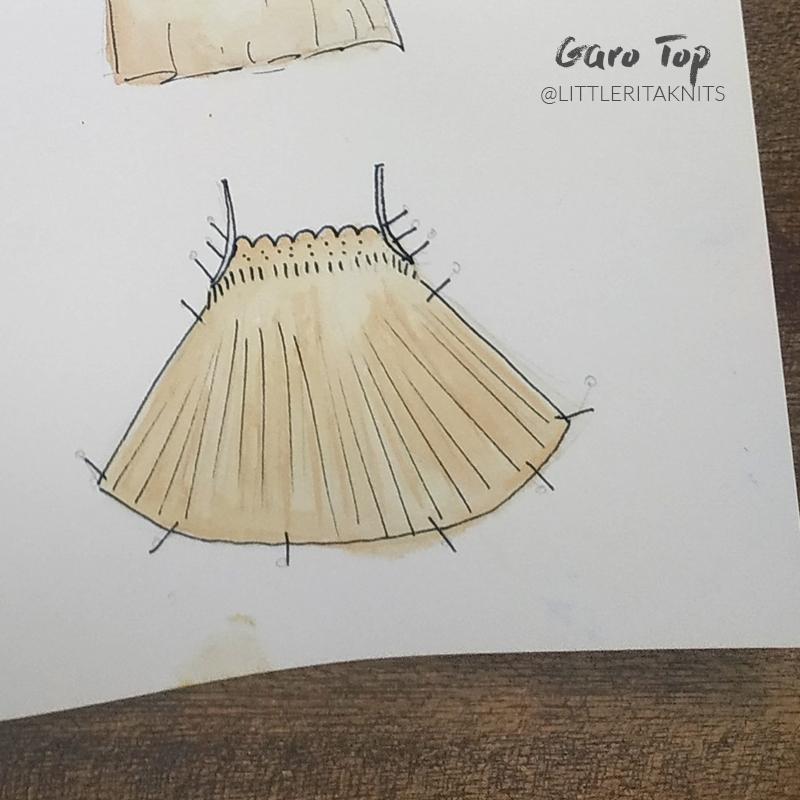 top bretelles tricot illustration 3