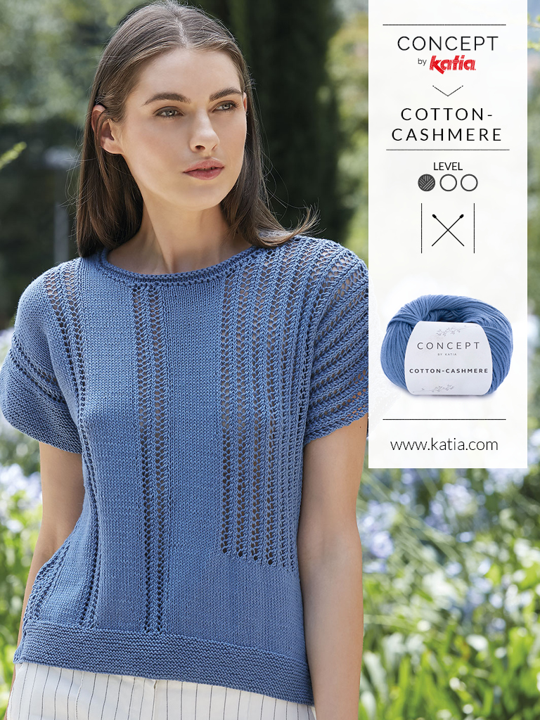 tricot-ajoure-modeles rayures verticales