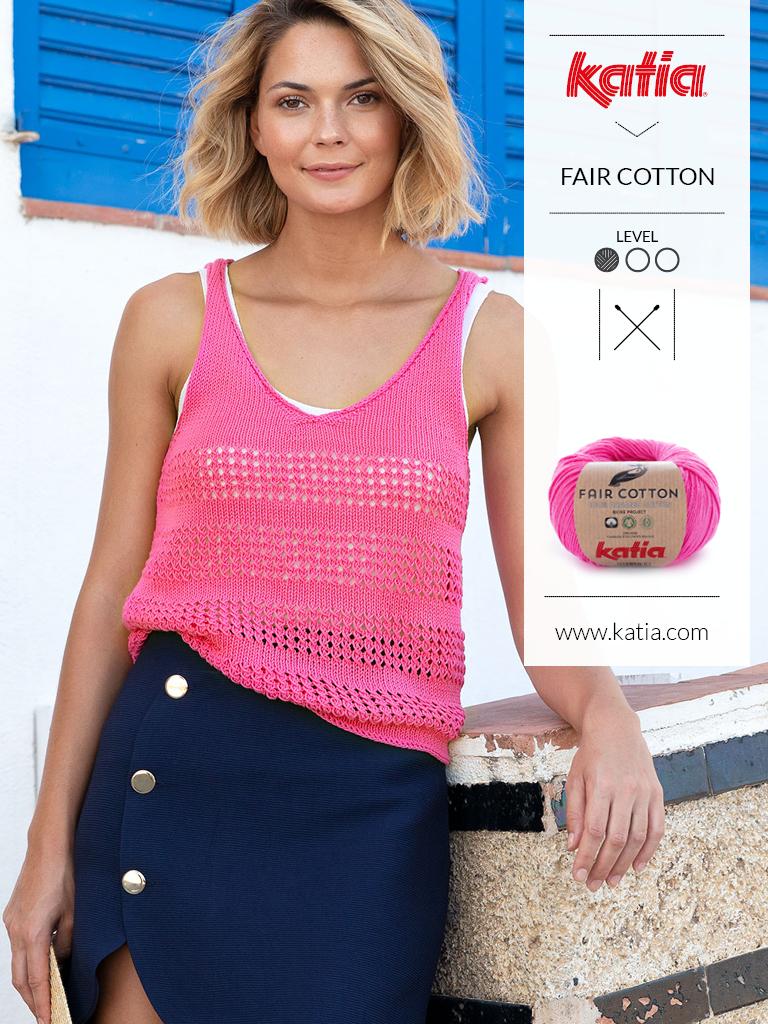 tricot-ajoure-modeles fair cotton