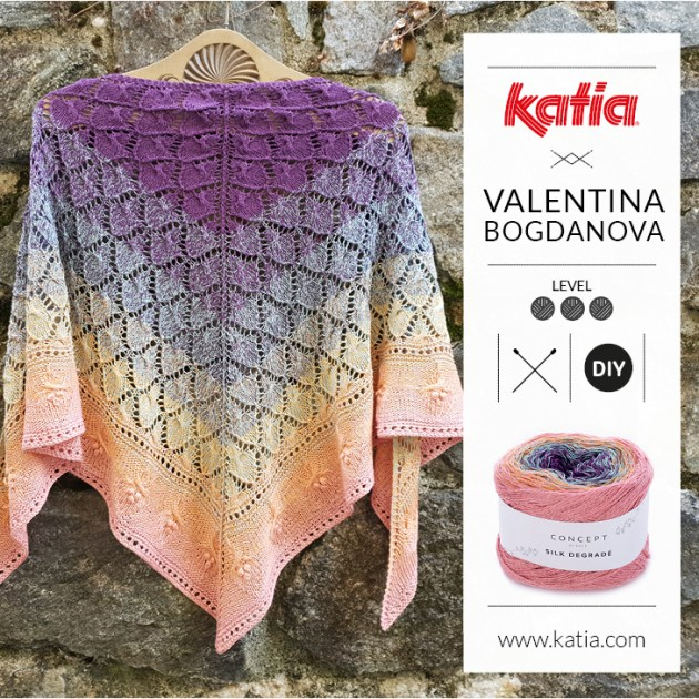 chale taina tricot