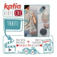 Lavora con Katia Tahiti una pratica borsa di rete e pieghevole, lavorata all'uncinetto! Un kit per lavorare il prossimo VideoKAL potrebbe essere tuo!