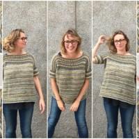 Craft Lovers ♥ Le sfide di Lu e la sua maglia oversize senza cuciture e reversibili lavorata con il supergomitolo Big to Knit