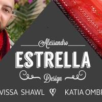 Craft Lovers ♥ Scialle Eivissa di Alessandro Estrella lavorato con Katia Ombré