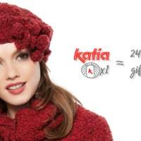 24 regali fatti a mano con solo 1 gomitolo Katia per Natale: cappelli, sciarpe, scialli, bandane, guanti...
