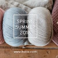 14 novità nei gomitoli Katia Primavera Estate 2018 per innamorarsi e vincere un premio molto speciale