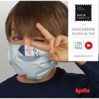 Come cucire mascherina per bambini con filtro in TNT e mascherina di tessuto non chirurgiche per adulti