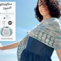 Vídeo tutorial Scialle Atlantico di Marianela Galo: Come lavorare uno scialle a mezza luna per le serate estive