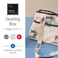 SAL Borsa da lavoro: confezioniamo assieme questa pratica borsa multiuso nel nostro gruppo Sew-Along Katia!