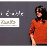 Craft Lovers ♥ Trui Érable met Katia Merino 100% van Lisallu
