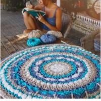 Craft Lovers ♥ Mandala Vloerkleed gehaakt door Susimiu met de kwaliteit Washi