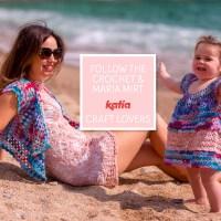 Gehaakte moeder dochter outfit: haak een zomerjurkje en Granny vestje