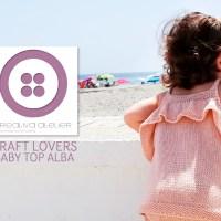 Brei een kindertopje met ruches met deze tutorial van Creativa Atelier