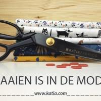 Naaien is in de mode: leer de basistechnieken van naaien met Katia Fabrics!