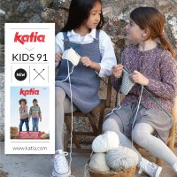 4 gebreide kindermode trends die je eenvoudig kan maken met het nieuwe tijdschrift Katia Kinderen 91!