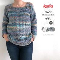 Gehaakte Eurybia trui door @BlageCrochetDesign, een leuk project voor beginners die uitdaging zoeken!