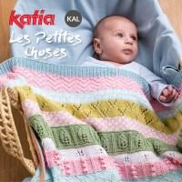 Les Petites Choses KAL: brei deze schattige babydeken met ons in onze Knit-Along Katia Facebookgroep!