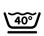Lavable a máquina 40º Centrifugado corto