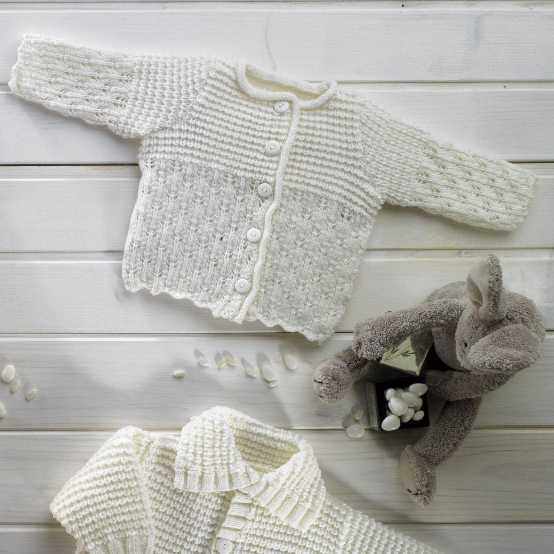 veste layette automne hiver modeles patrons katia com