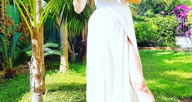 dress white, look estivo , Katia Ferrante