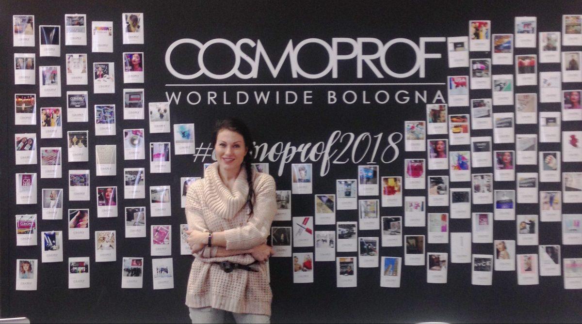 La mia partecipazione a Cosmoprof worldwide 2018