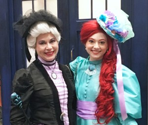 Victorian Ariel and Ursula