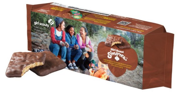 Girl Scout Smores Cookies