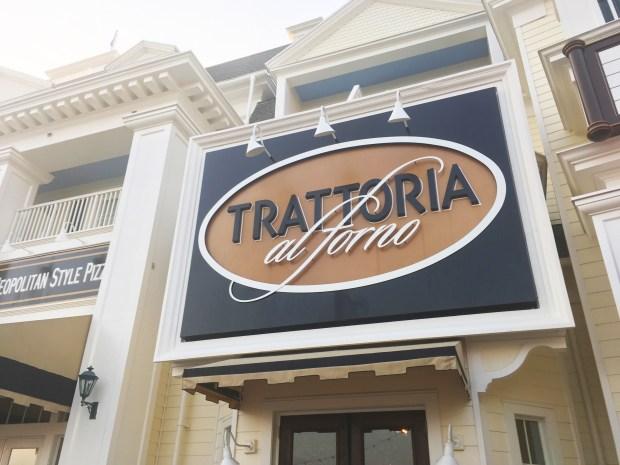 Bon Voyage Adventure Breakfast at Trattoria al Forno - Disneyworld
